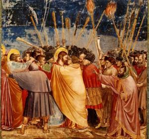 Il bacio di Giuda - Giotto