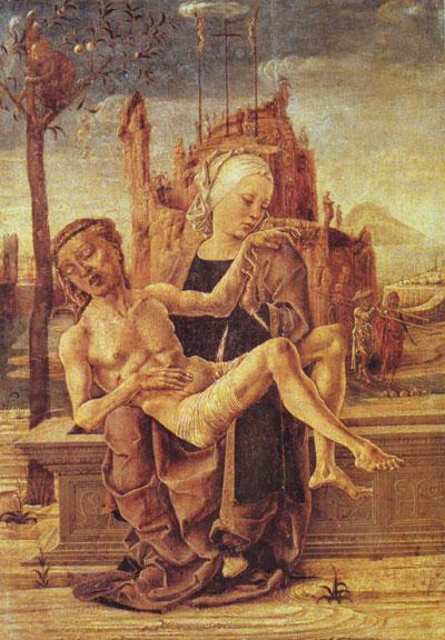 Pietà - Cosmè Tura