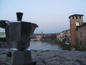 Moka ammira l'Adige