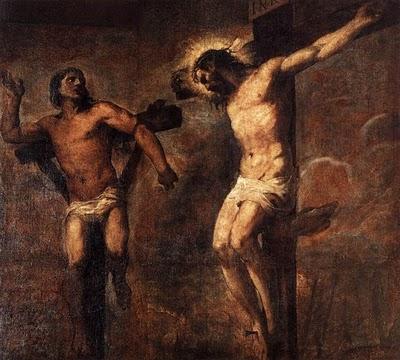 Cristo e il Buon Ladrone (di Tiziano)
