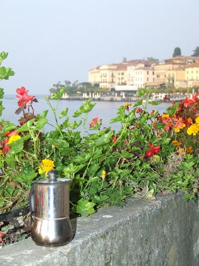 Moka sul ramo del Lago di Como