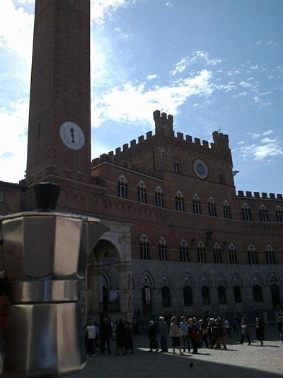 Moka a Piazza del Campo