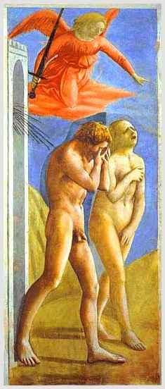 La cacciata dall'Eden - Masaccio