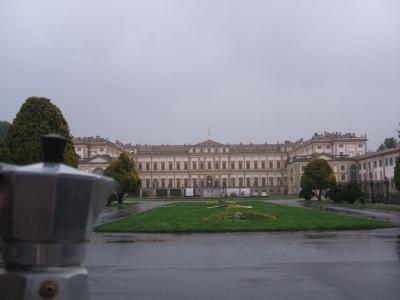 Moka alla Villa Reale di Monza