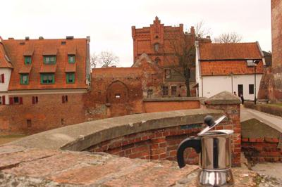 Moka a Torun Stare miesto