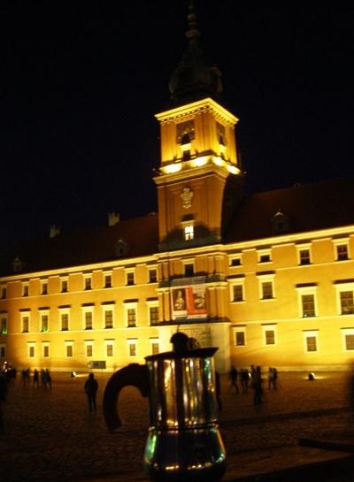 Moka al Castello Reale - Varsavia
