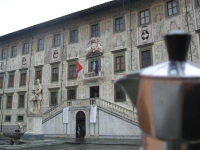 Moka alla Scuola Normale Superiore di Pisa