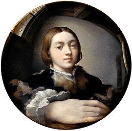 Autoritratto allo specchio - Parmigianino