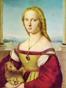 Raffaello Sanzio - Dama con liocorno