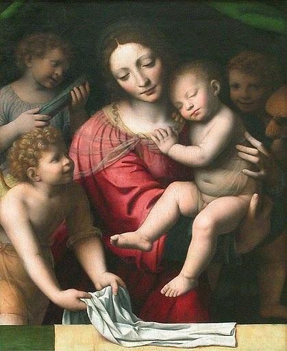 Gesù bambino che dorme - Bernardino Luini