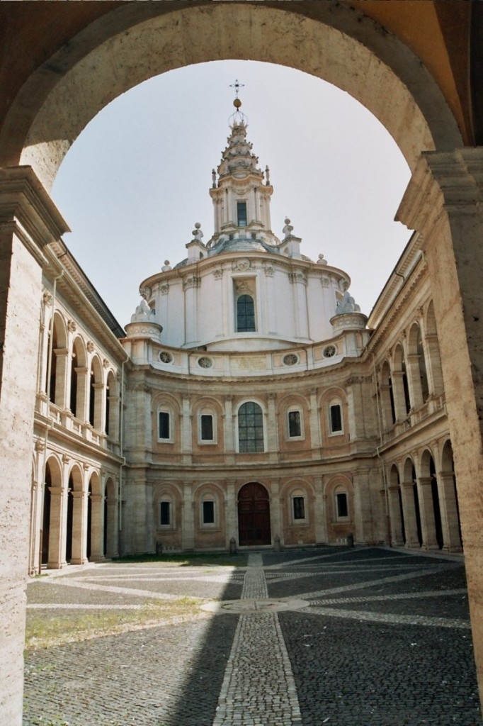 Sant'Ivo alla Sapienza - Francesco Borromini