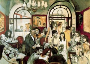 Caff Greco - Renato Guttuso