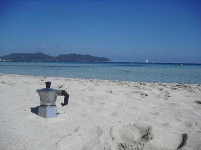 Moka a Cala Nau,  Maiorca - Spagna