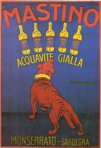 Acquavite gialla - Mastino