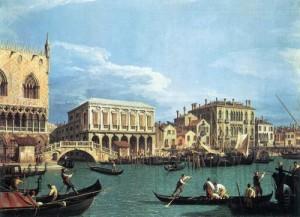 Il Bacino di San Marco con il Bucintoro (Canaletto)
