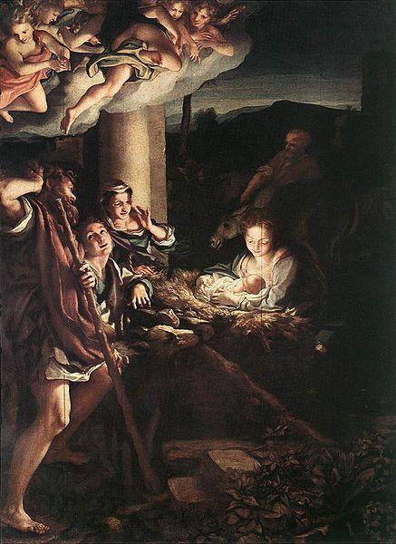 L'adorazione dei pastori (La notte) - Correggio
