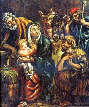 Natività - Giorgio De Chirico