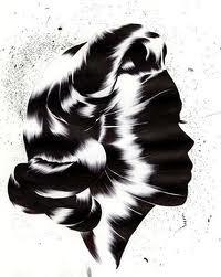 Donna in nero