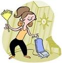 Fare le pulizie