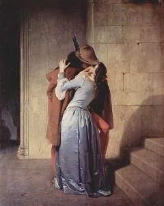 Il bacio - Francesco Hayez