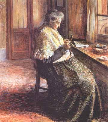 La madre - Umberto Boccioni