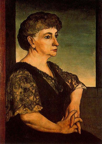 Ritratto della madre dell'artista - Giorgio De Chirico