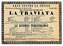 La Traviata - Locandina