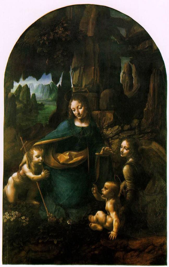 La Vergine delle rocce - Leonardo da Vinci