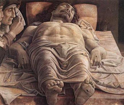 Andrea Matnegna - Cristo morto