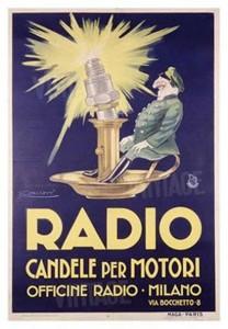 Candele per motori - Radio