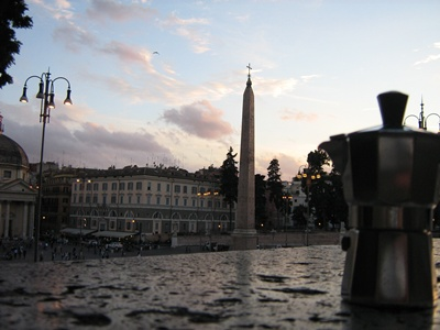 Moka a Piazza del Popolo - Roma