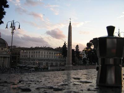 Moka a Piazza del Popolo - Roma