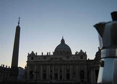 Moka a San Pietro - Roma