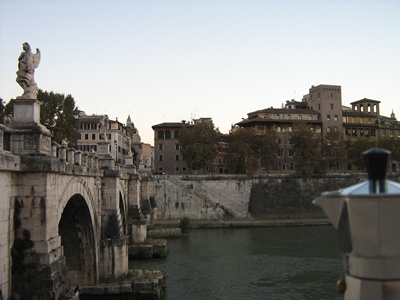 Moka a Ponte Sant'Angelo - Roma