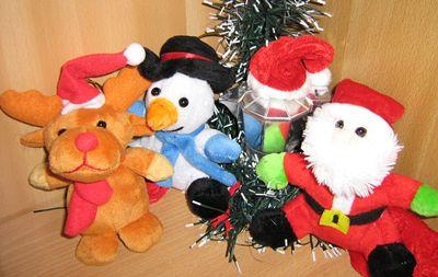 Moka e gli amici di Natale