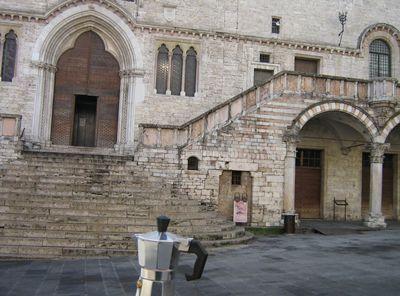Moka a Palazzo dei Priori