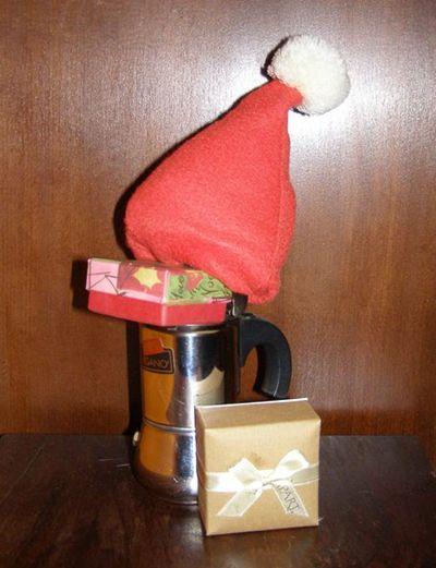 Moka aiutante di Babbo Natale