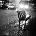 Città sotto la pioggia