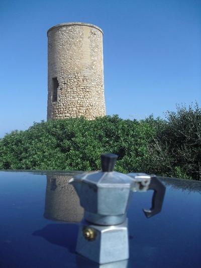 Moka a Torre des Falcons, Maiorca - Spagna